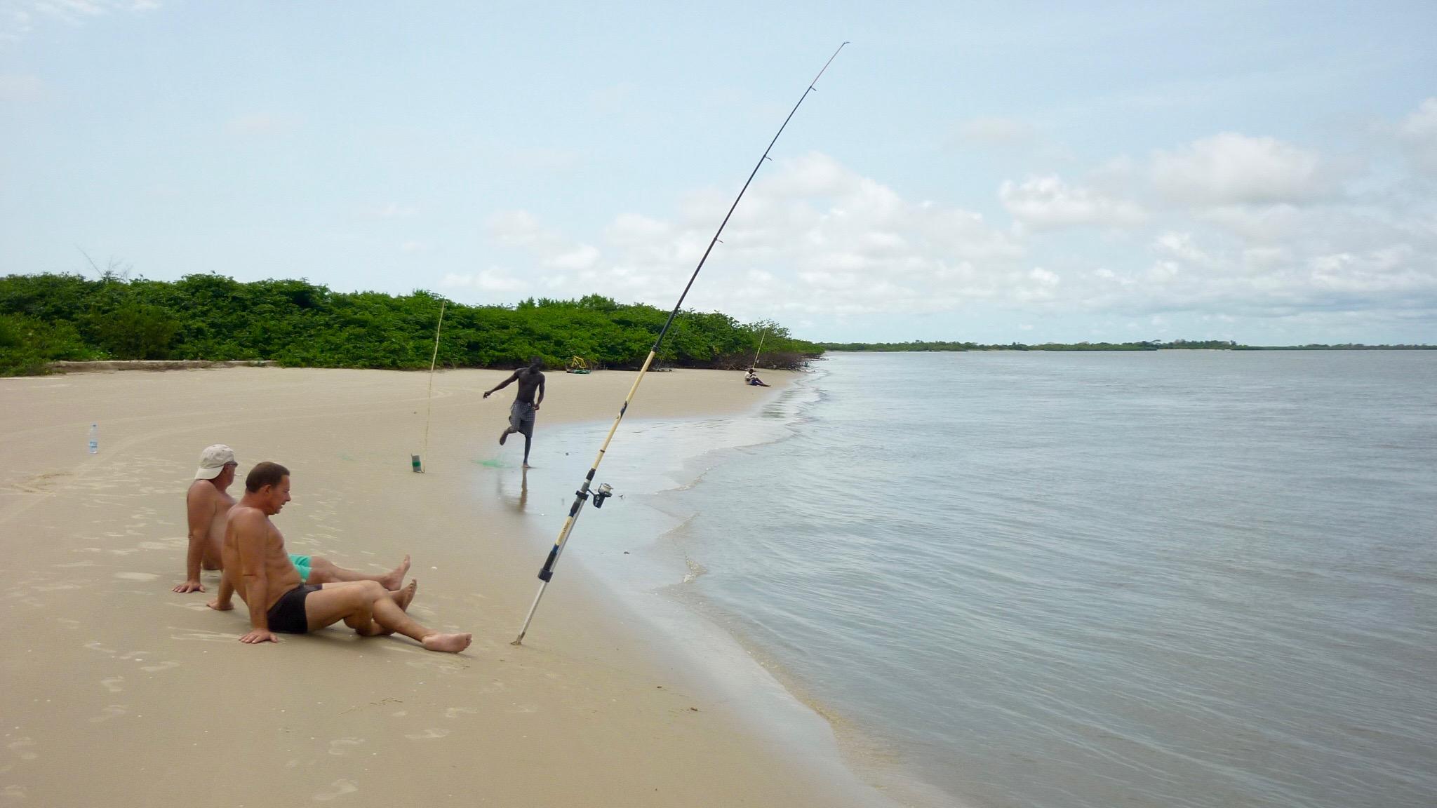 Pêche en bord d
