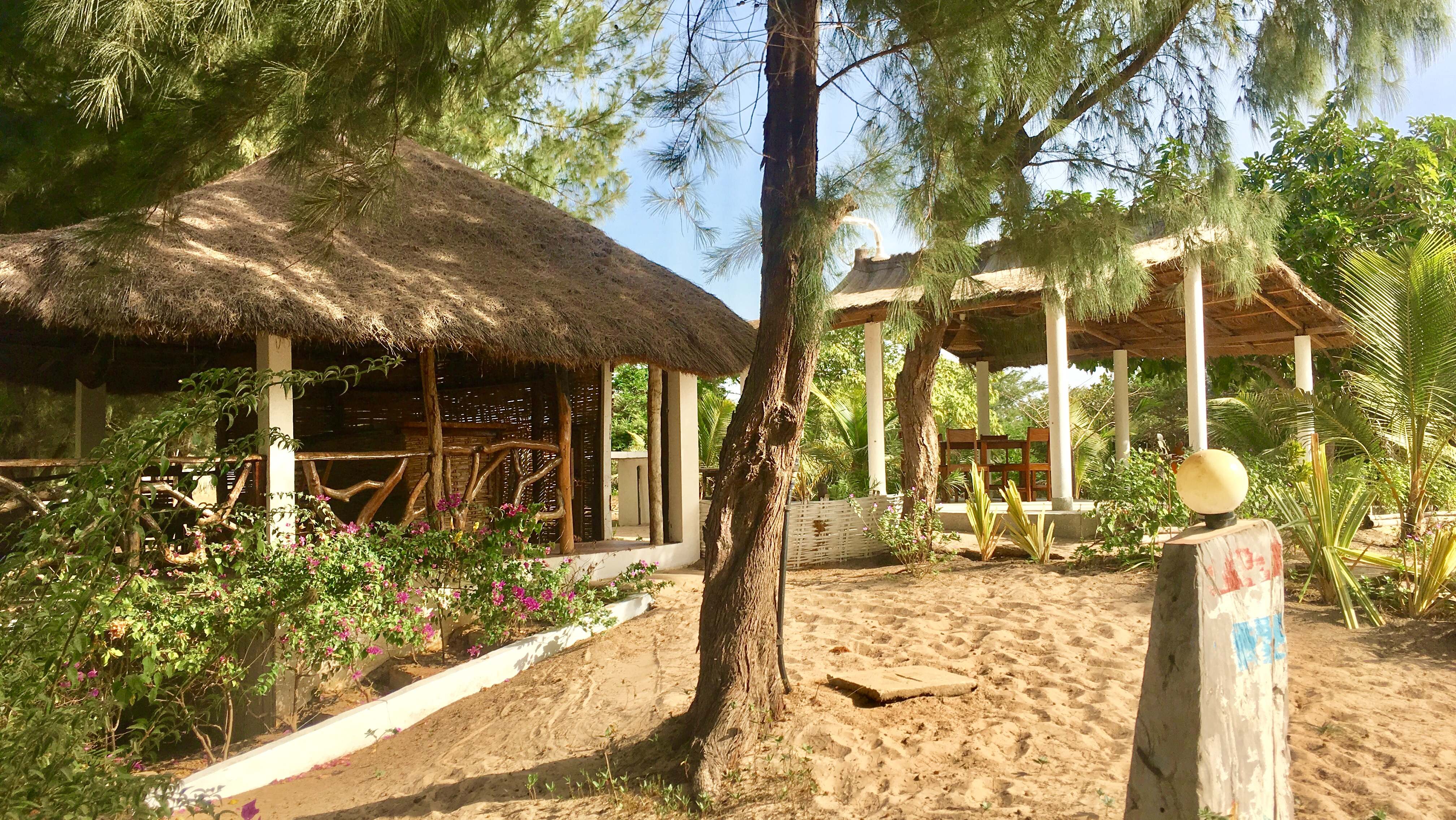 Bar des dunes et terrasse Kibalaou